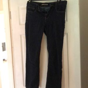 express boot cut jeans size 8s